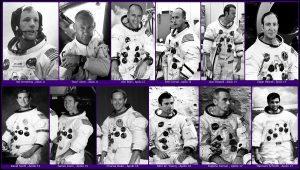 cuantos hombres han pisado la luna en años