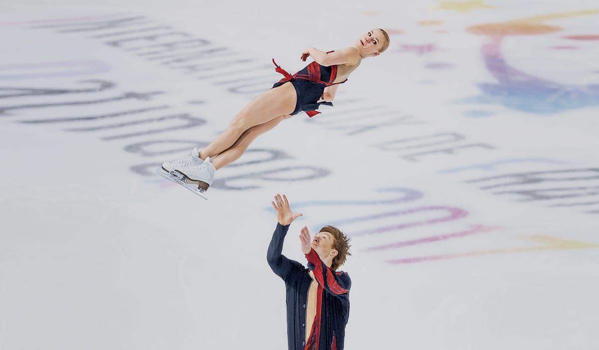 giros de patinadora