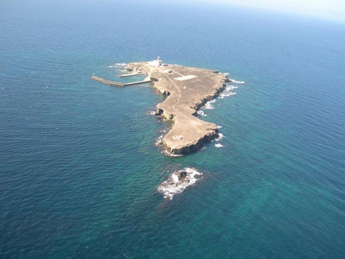 islas del mar de alboran