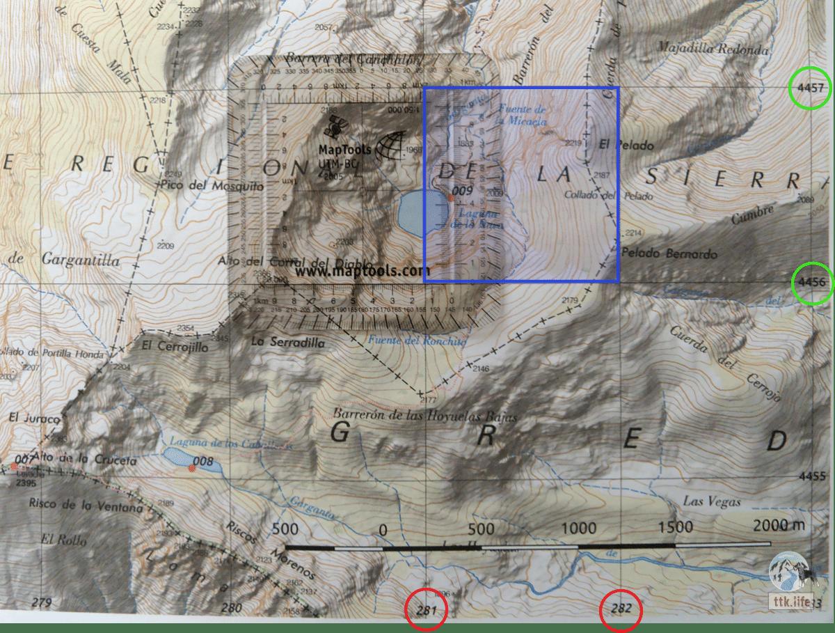 coordenadas en mapas