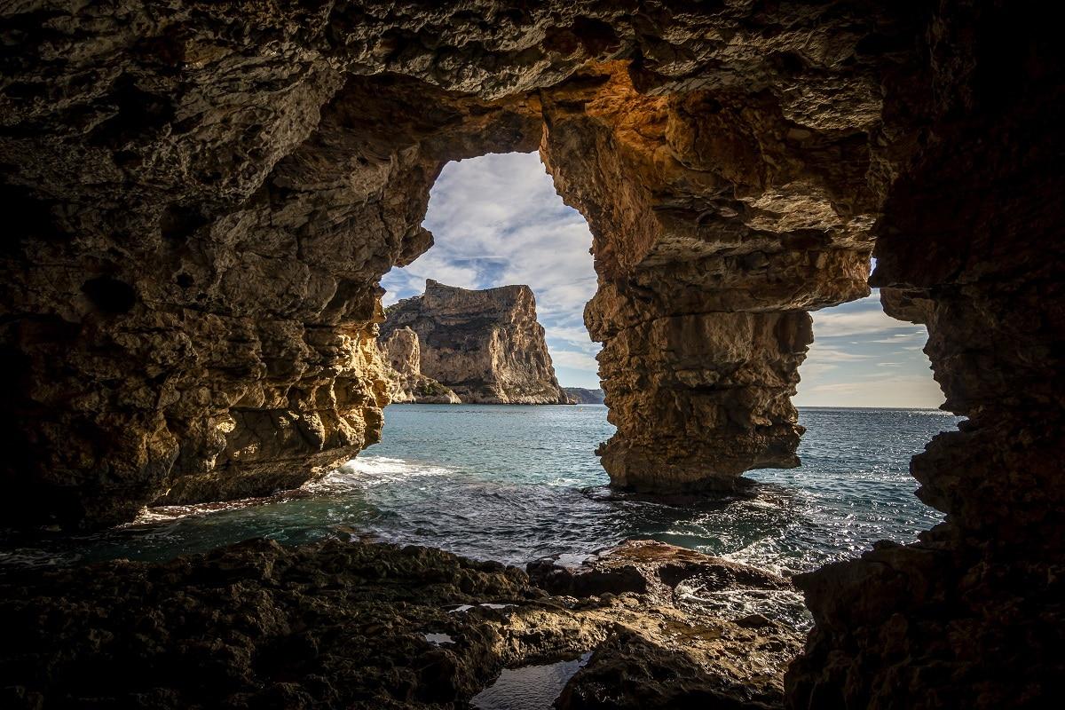 cuevas marinas