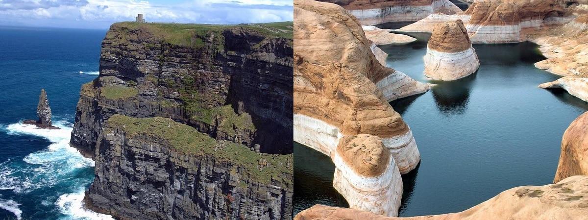 lugares de formacion de rocas