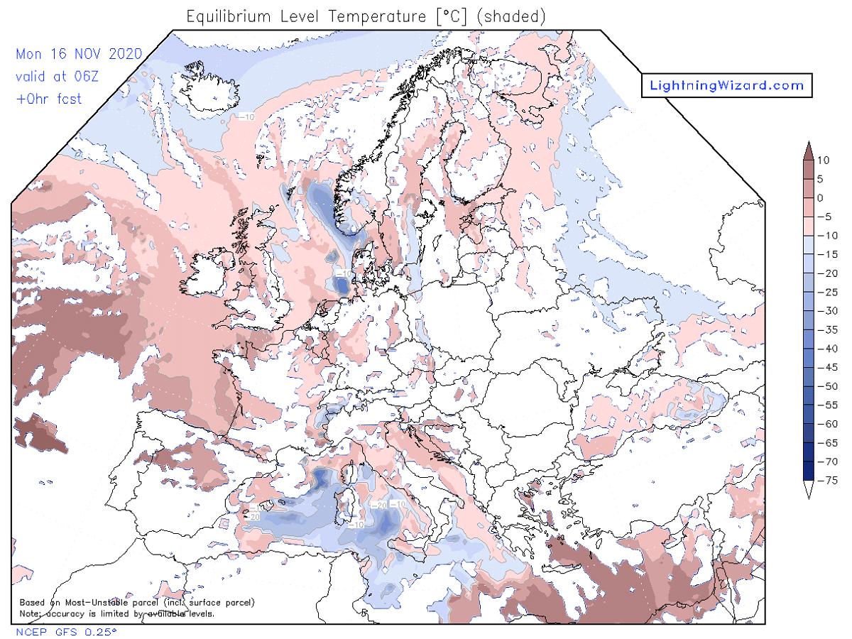 modelo GFS europeo