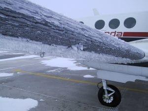 engelamiento en el vuelo