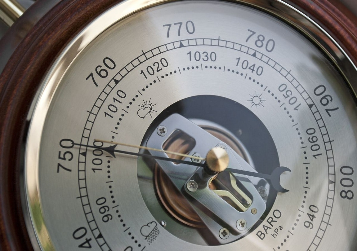 medir presion atmosferica