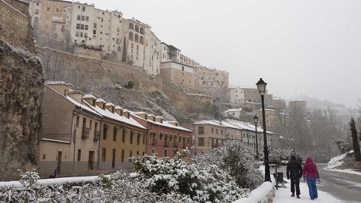 España con nieve