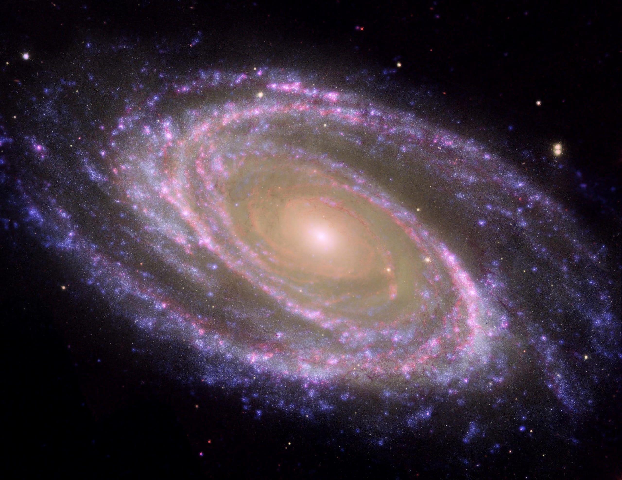caracteristicas galaxia espiral