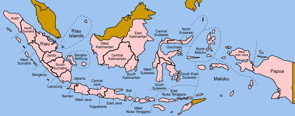 islas del mar de java