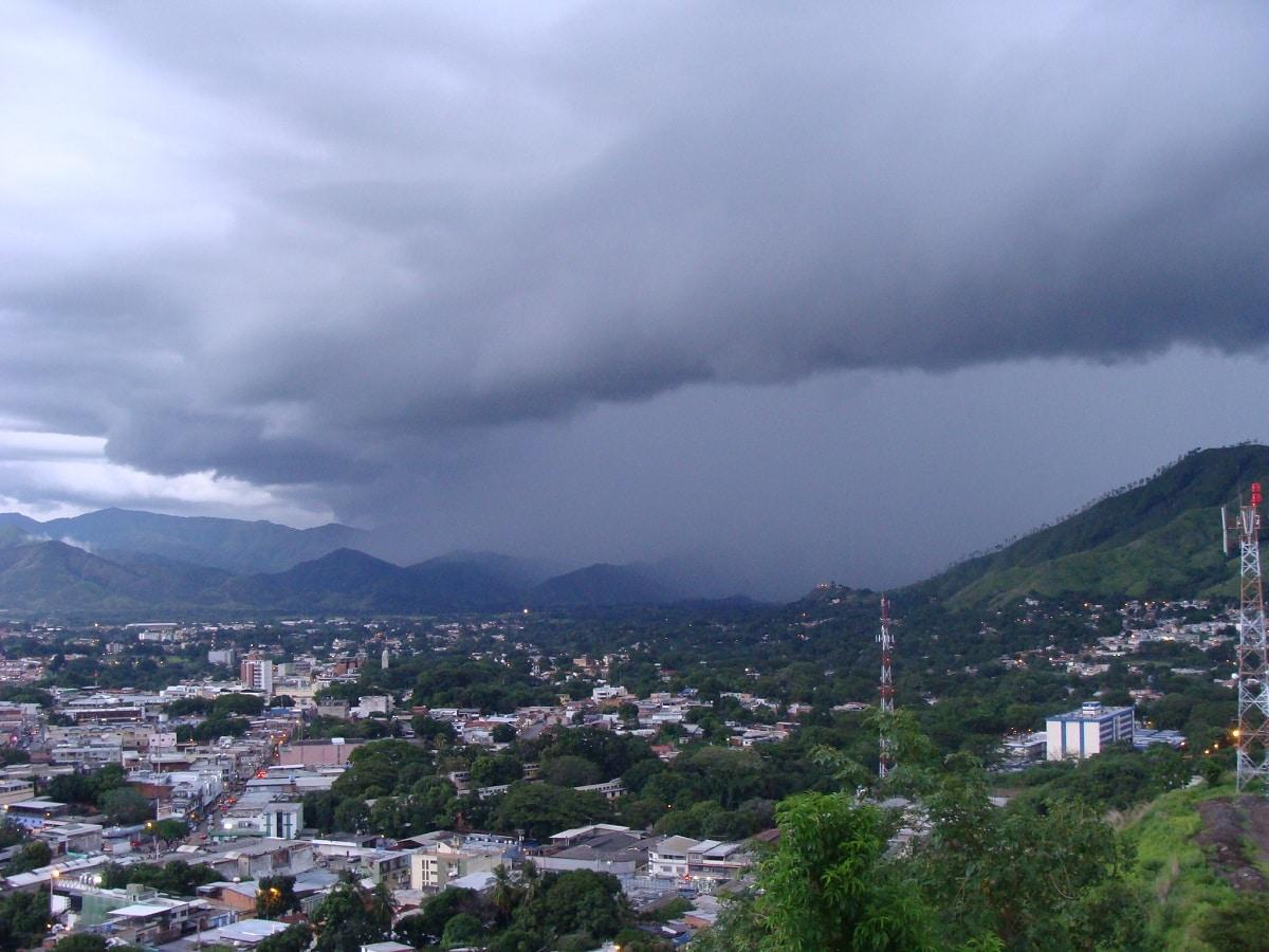 lluvia orografica