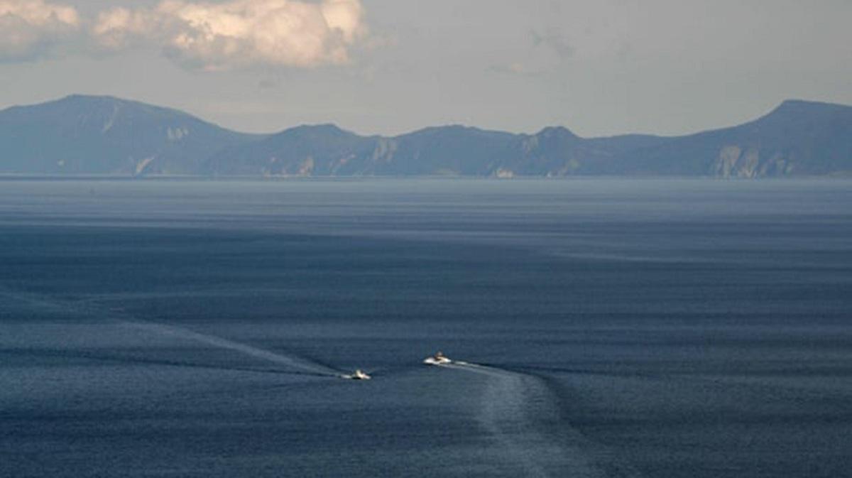 mar de Ojotsk en rusia