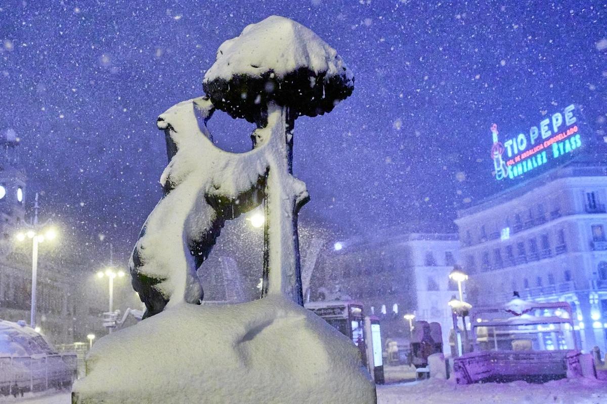 nieves en España