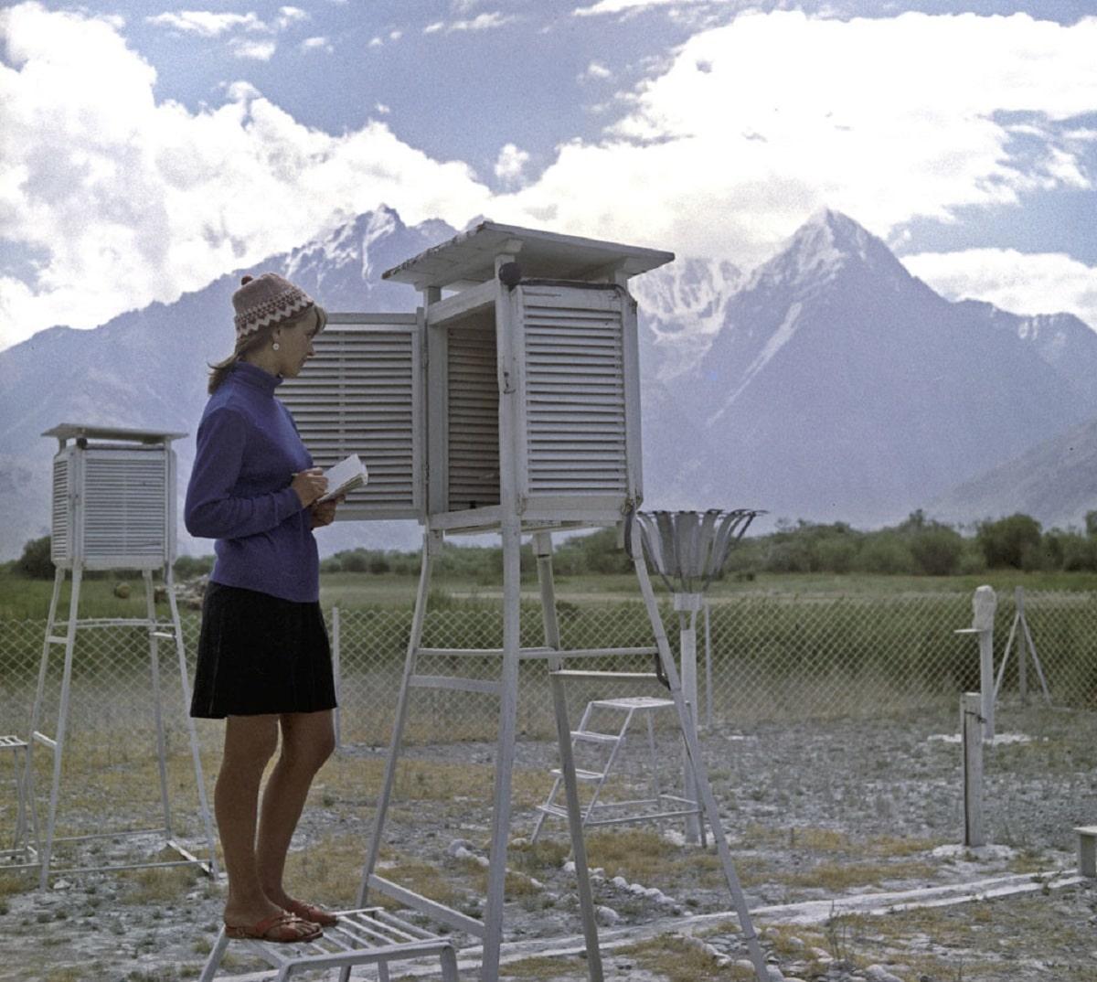 como ser meteorologo