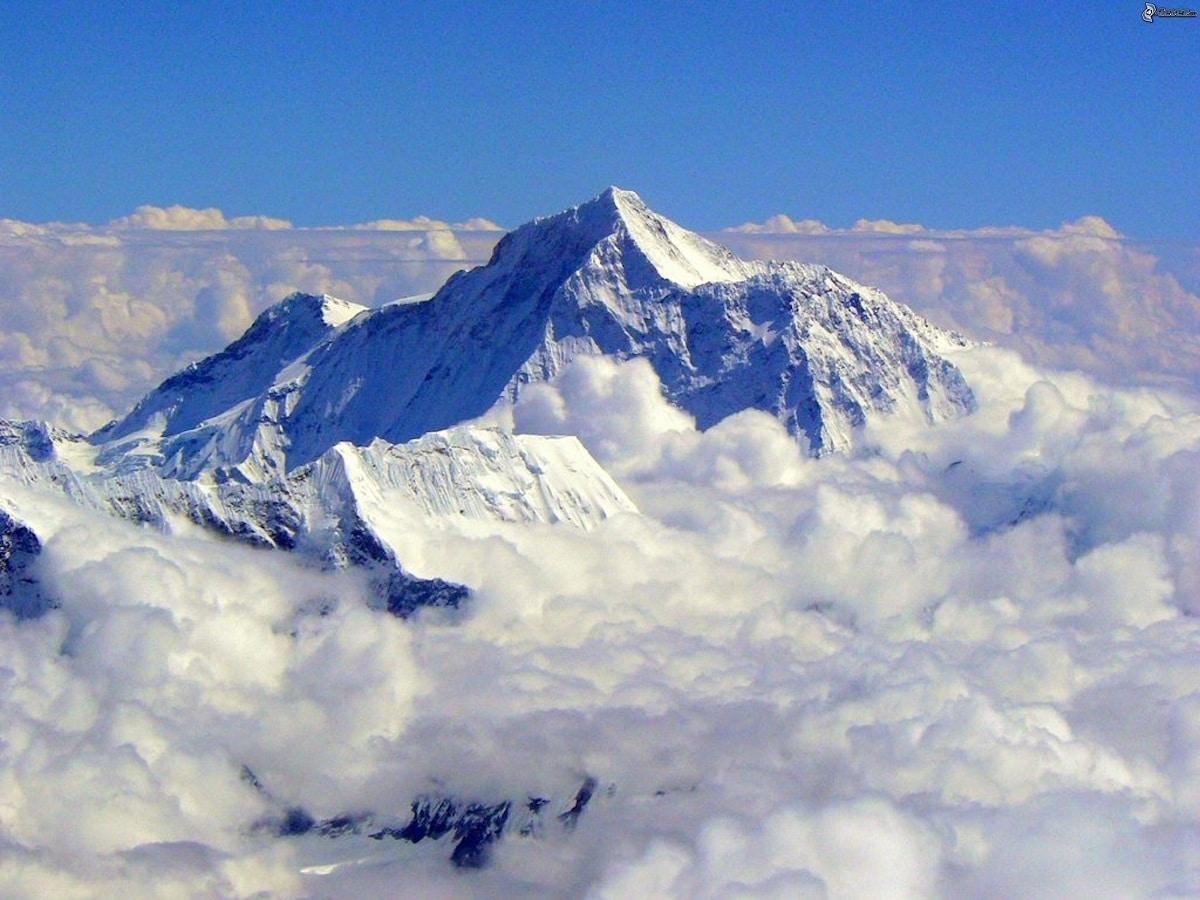everest montaña mas alta del mundo