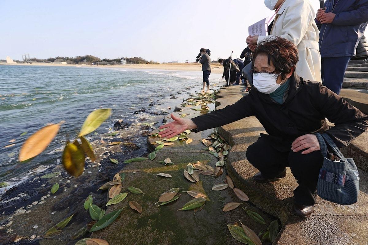 agua contaminada en fukushima
