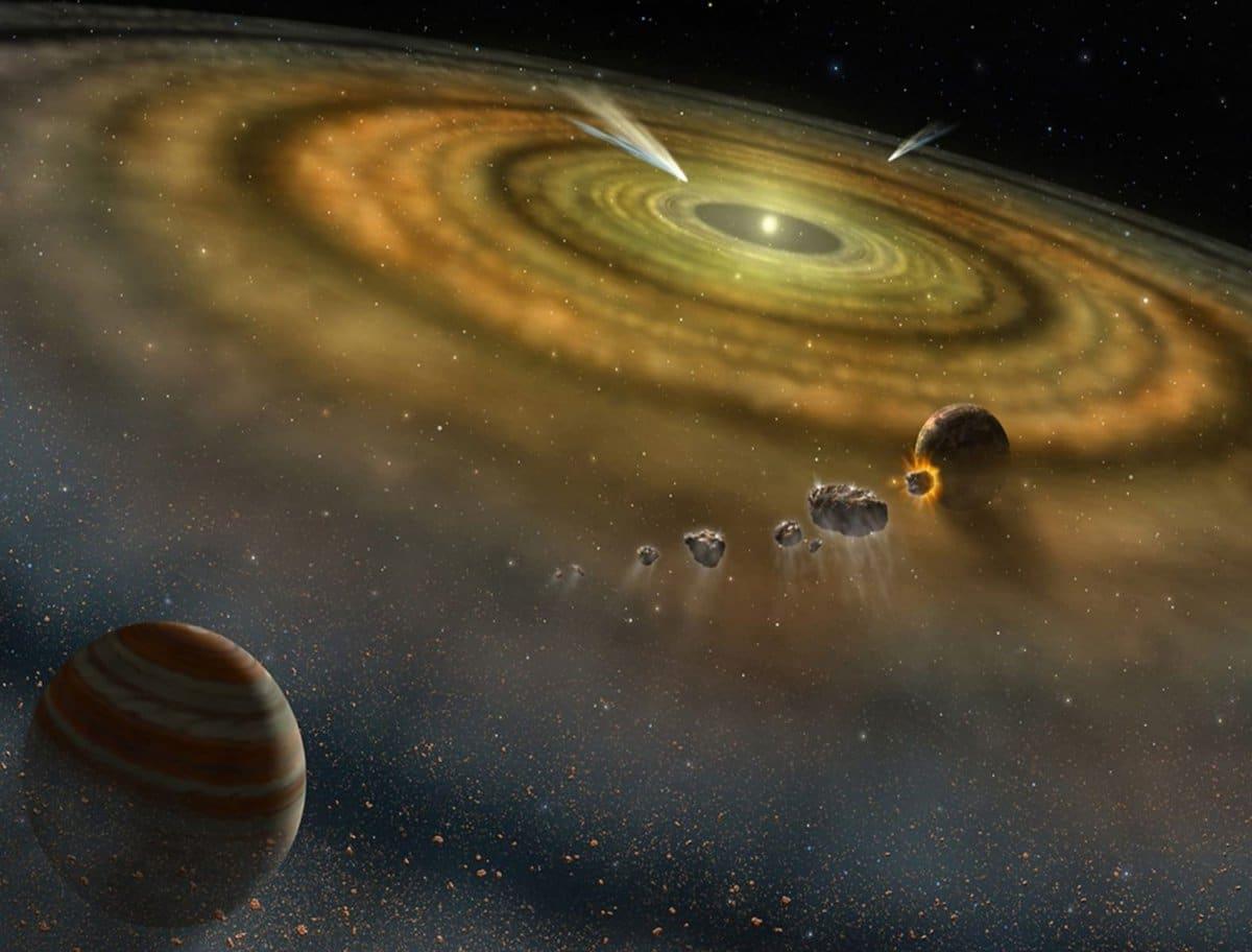 formacion del sistema solar