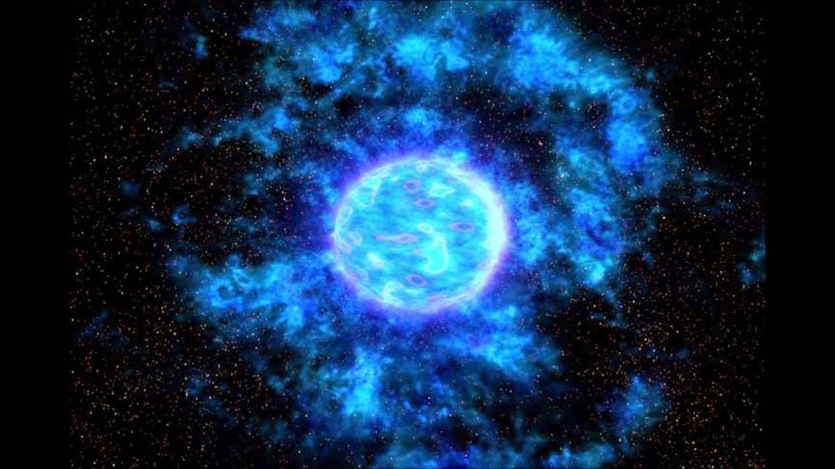 masas de una estrella