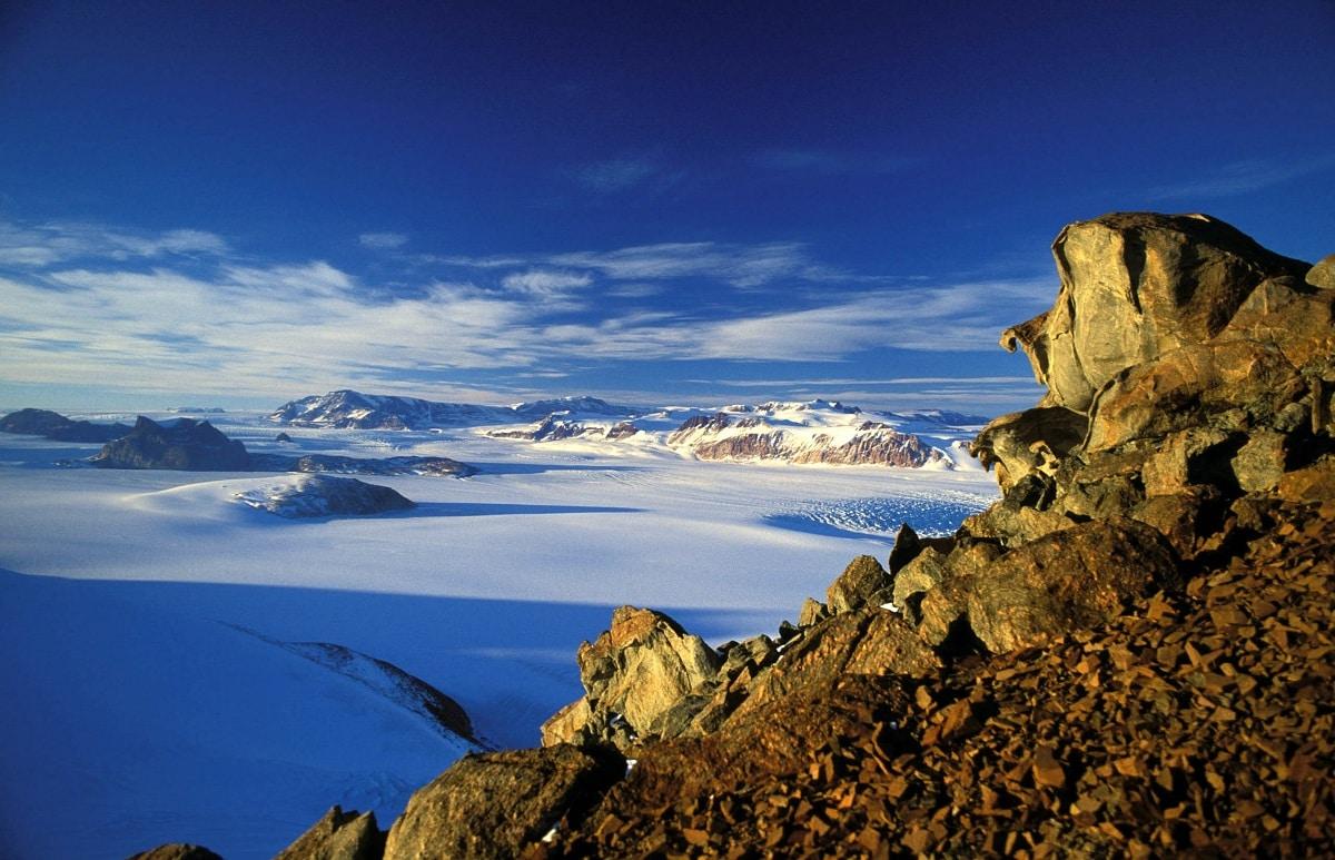 montañas transantarticas