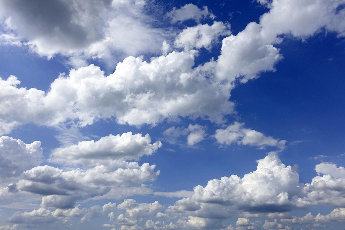 nubes y gas de efecto invernadero