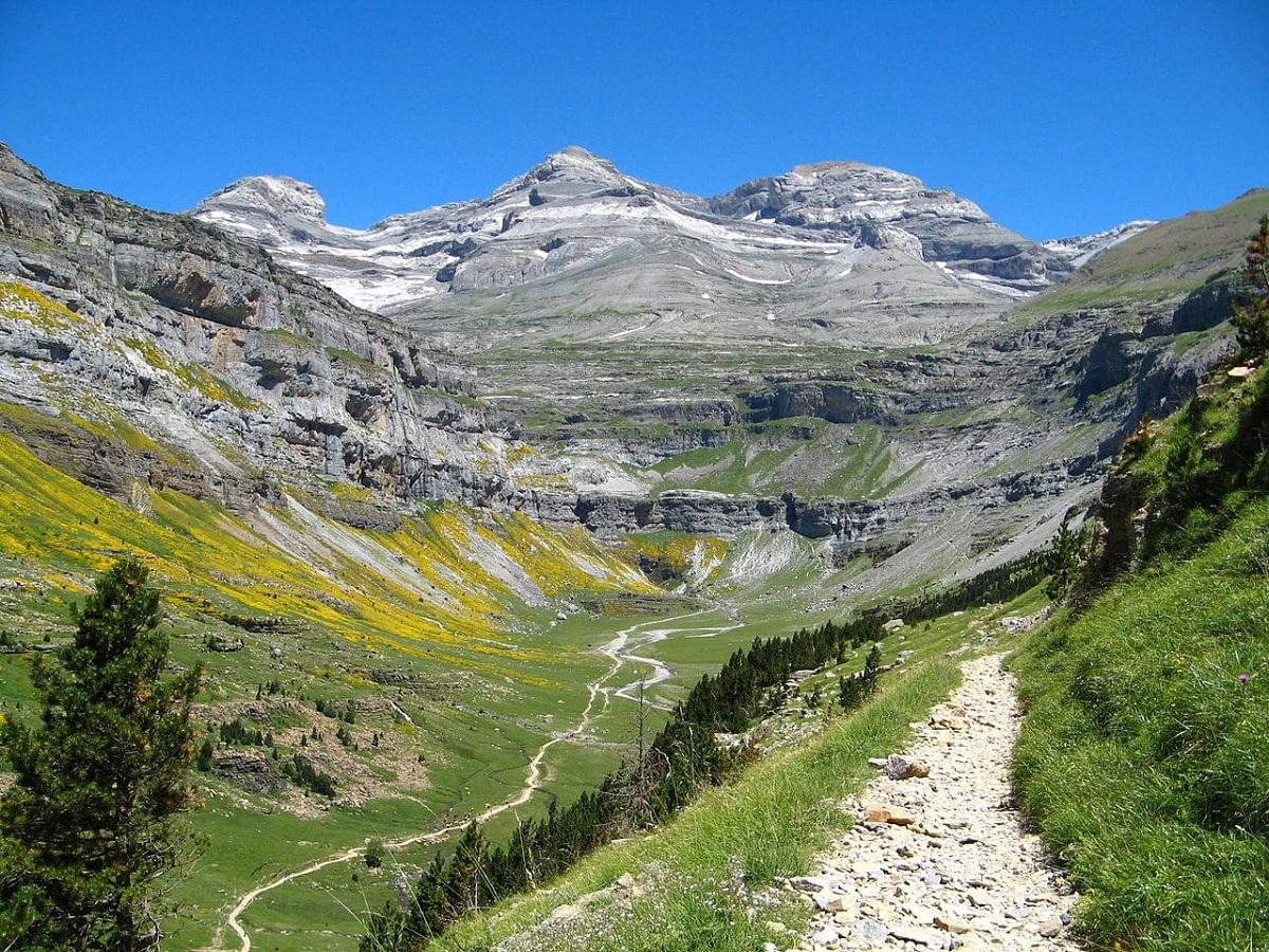 paisajes de los pirineos