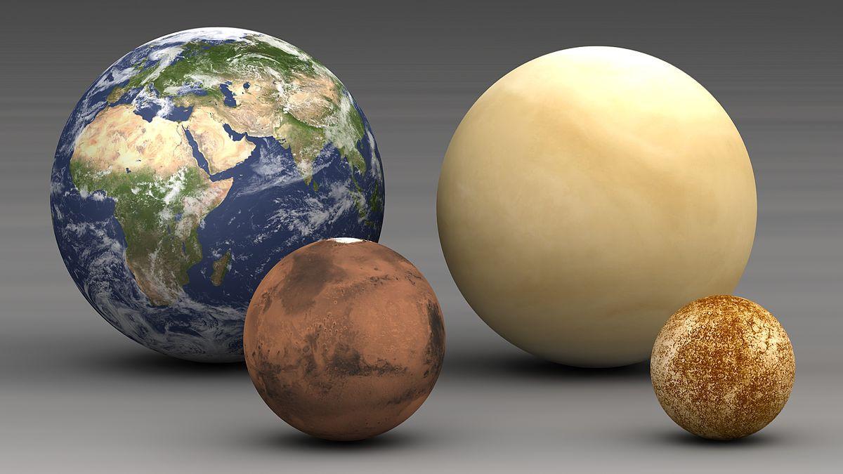 planetas rocosos del sistema solar