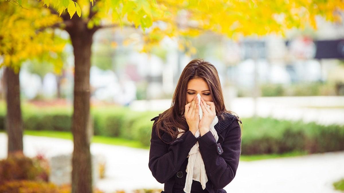 cambios en el clima y alergias