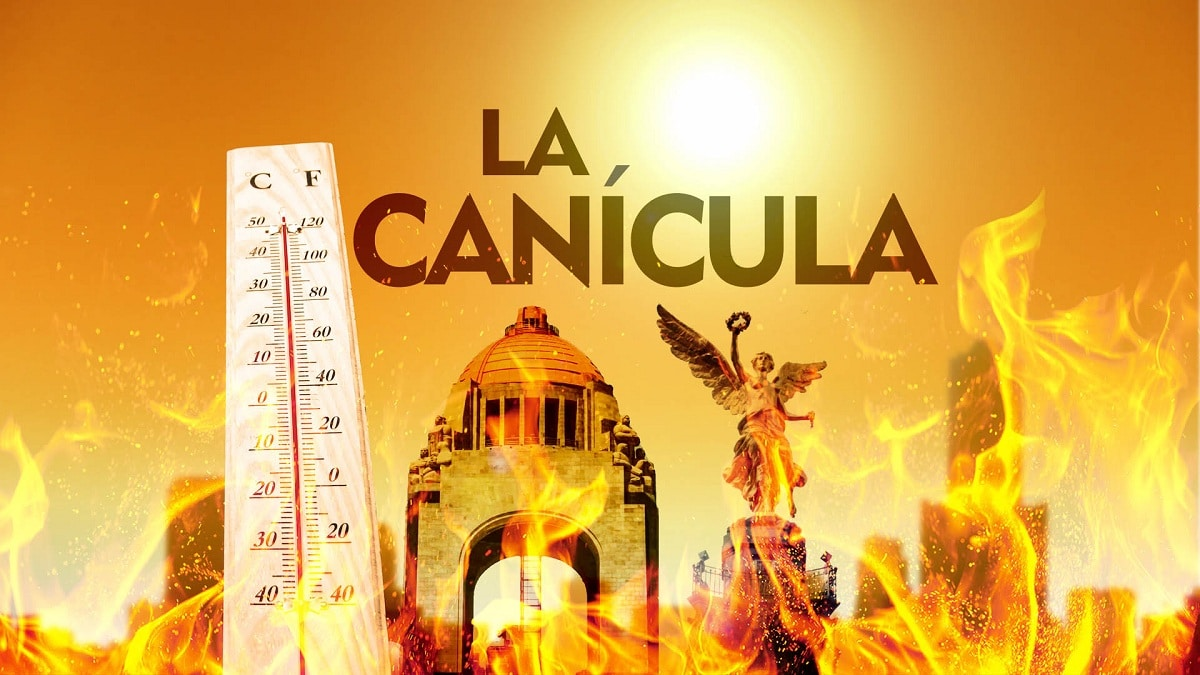 canicula como epoca de altas temperaturas