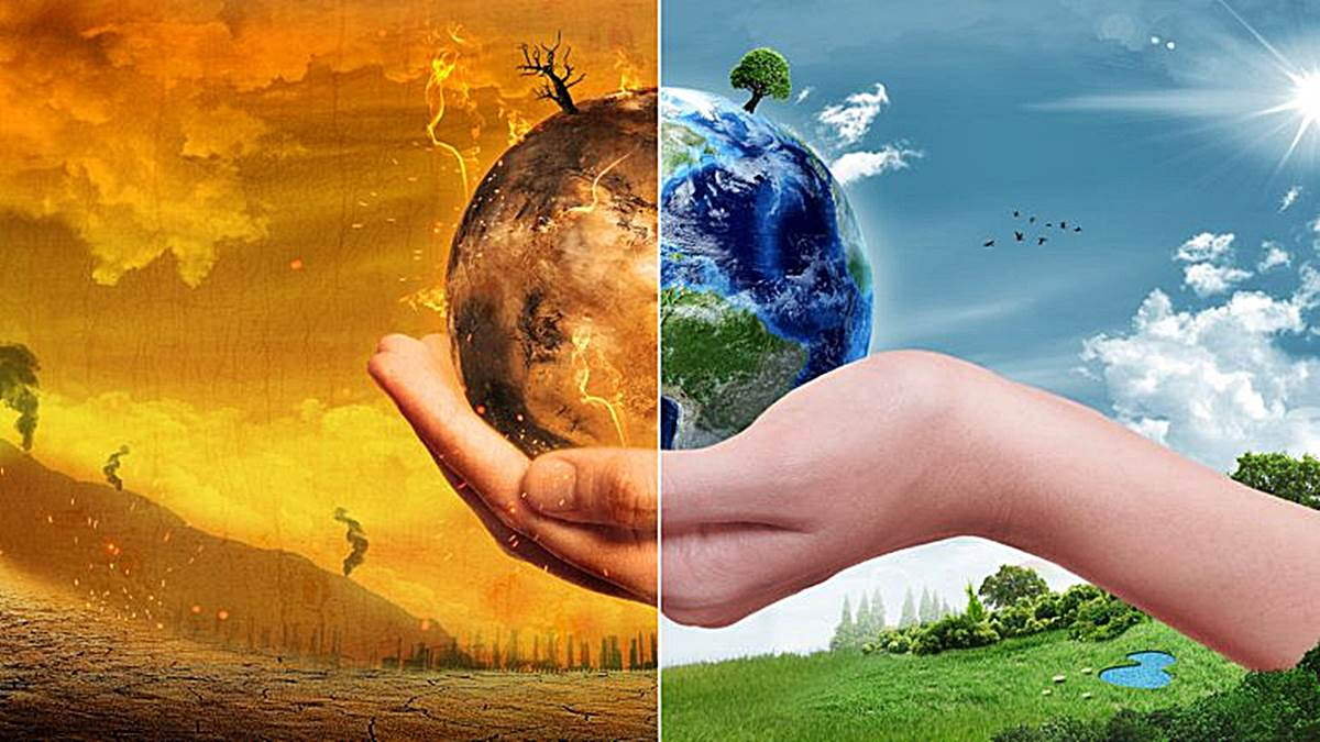 destruccion del planeta tierra