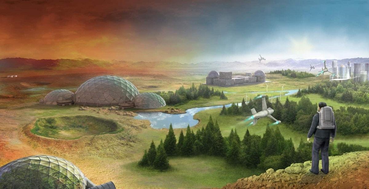seres humanos en otros planetas