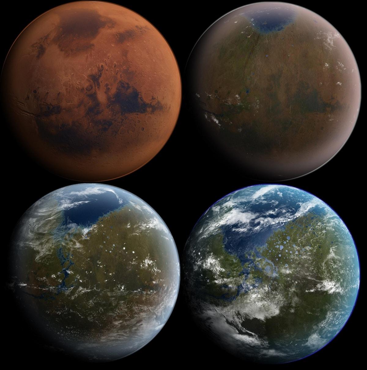 terraformacion de planetas