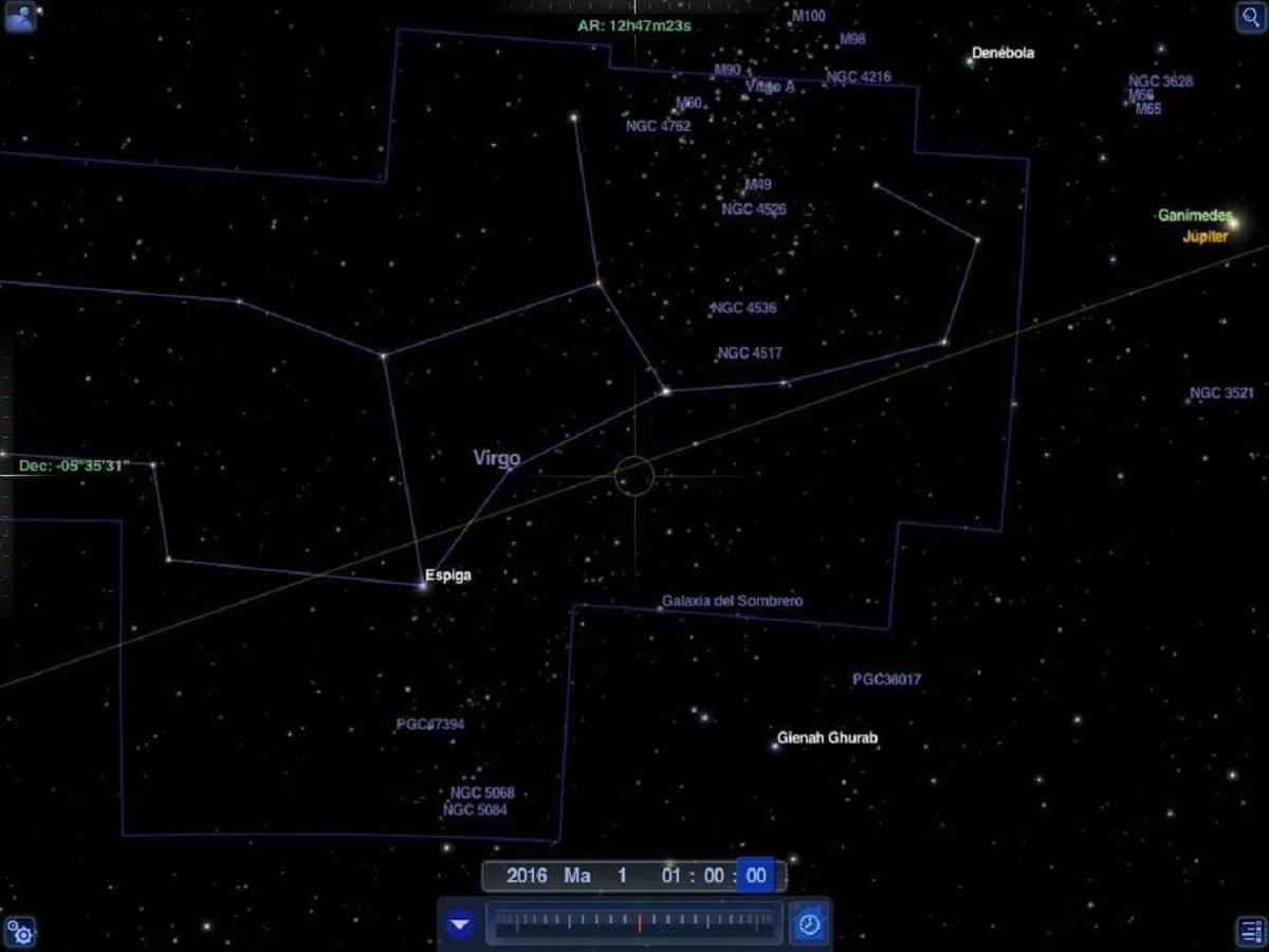 constelacion de virgo
