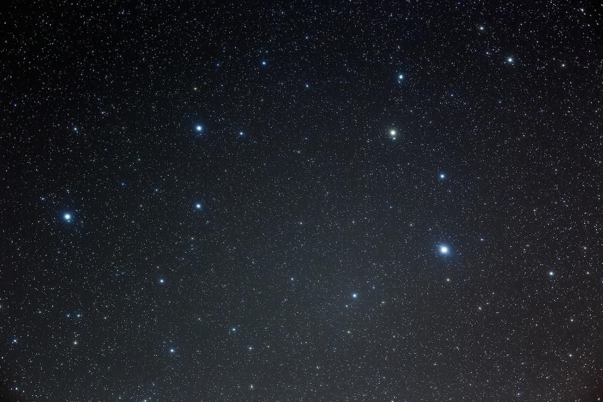 constelacion leo en el cielo