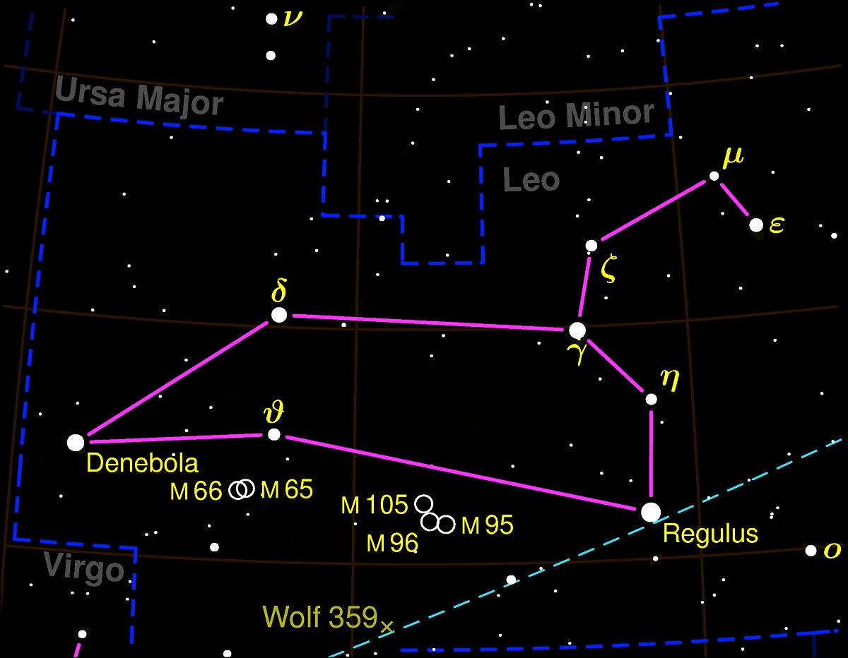 constelacion leo