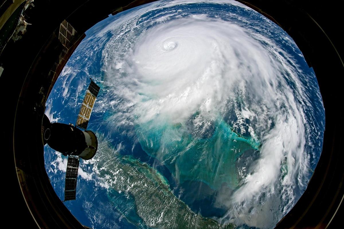 estancamiento del huracan dorian