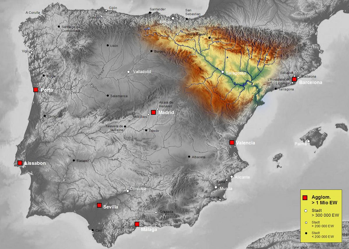 cuenca hidrografica del ebro