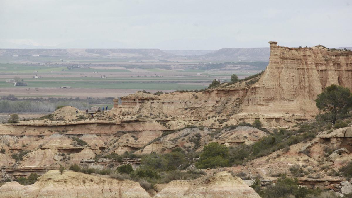 desertificacion en el valle del ebro