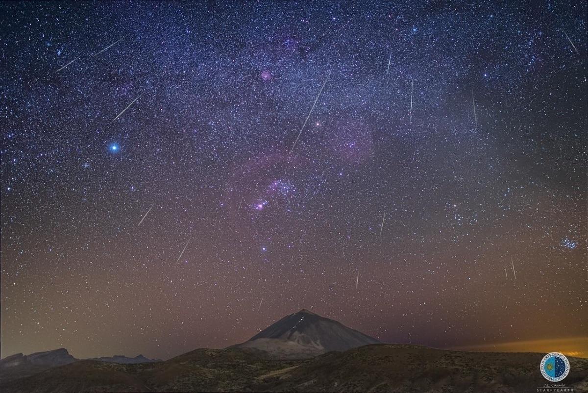 La lluvia de las Gemínidas se retransmitirá en directo desde el Observatorio del Teide