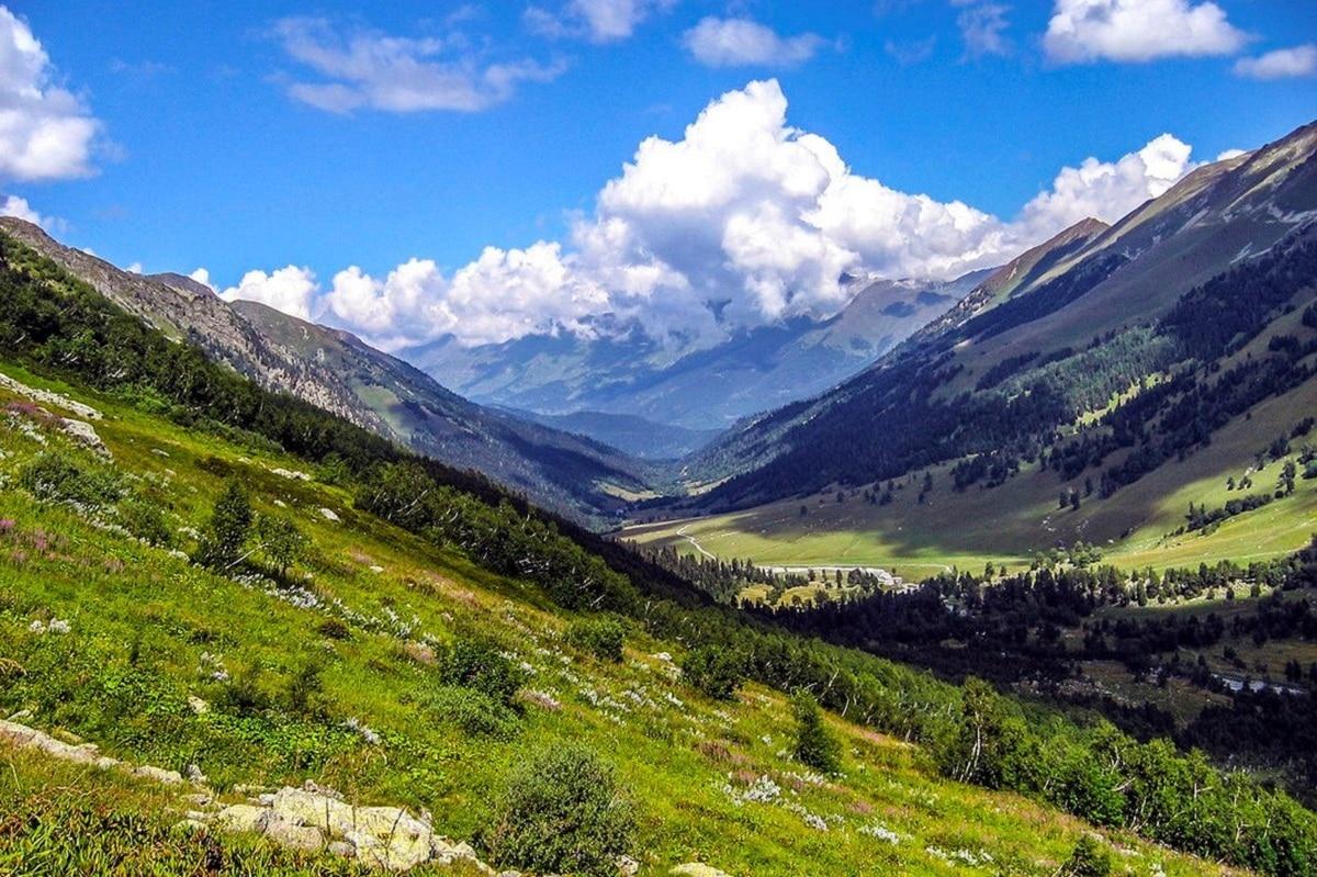 montañas del caucaso