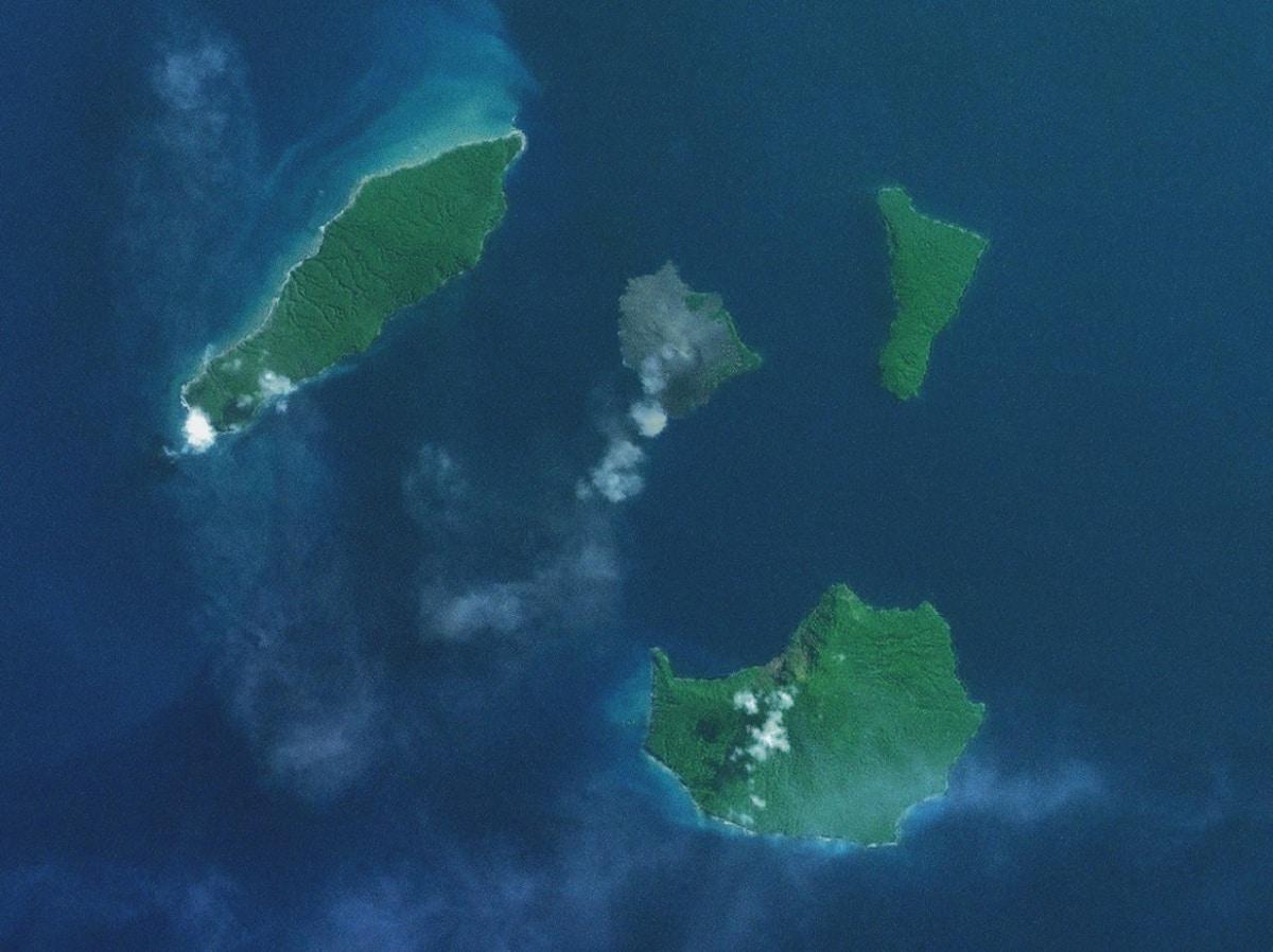 nacimiento de nueva isla