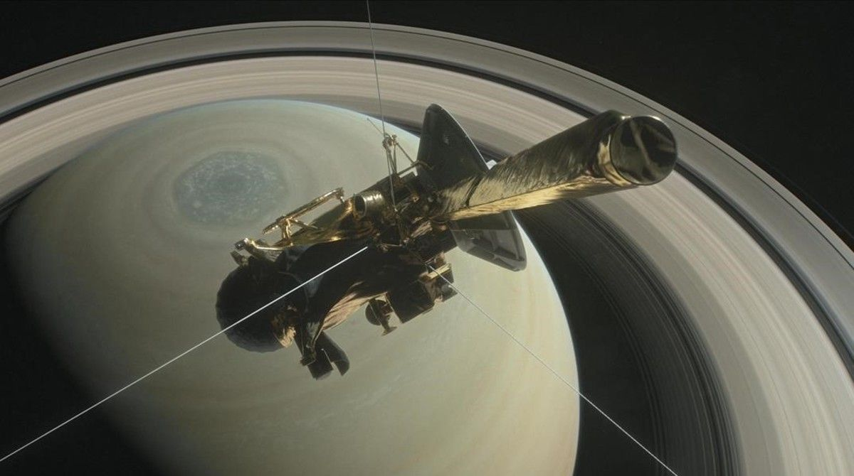 orbita de saturno