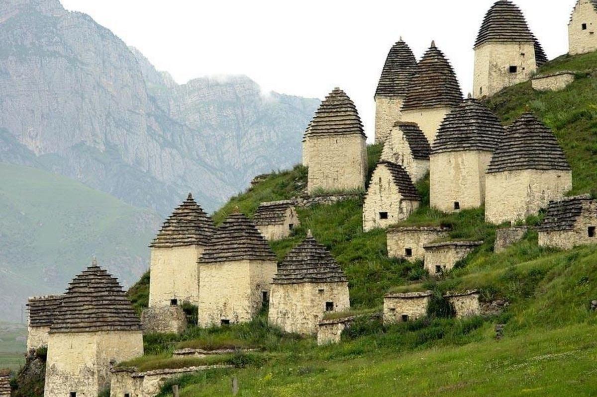 poblaciones antiguas de montaña