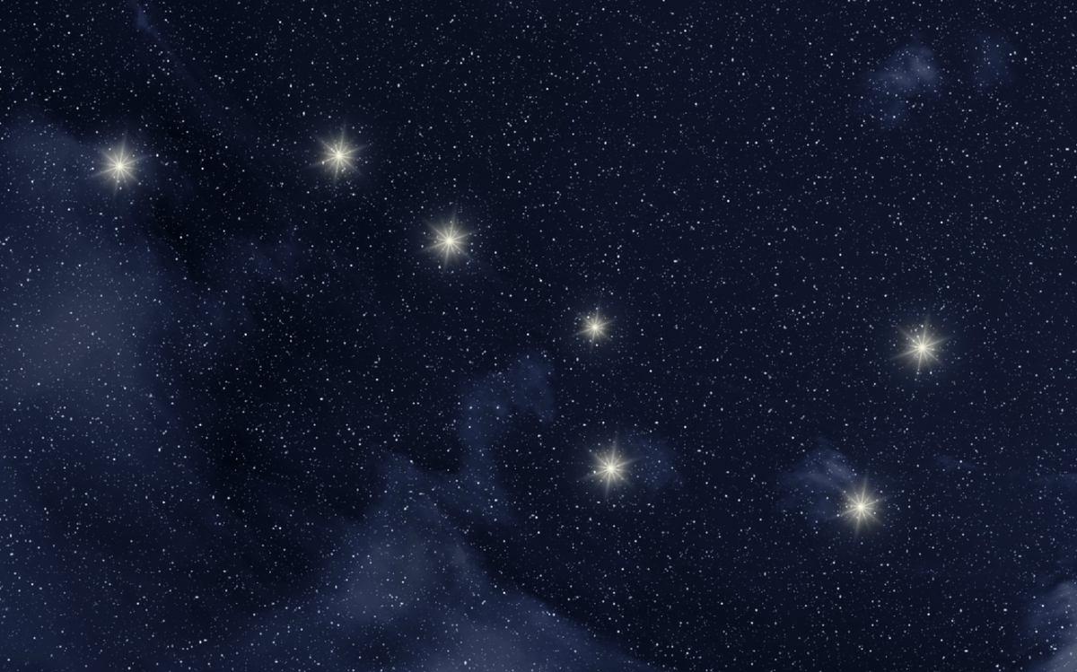 constelacion de la osa menor
