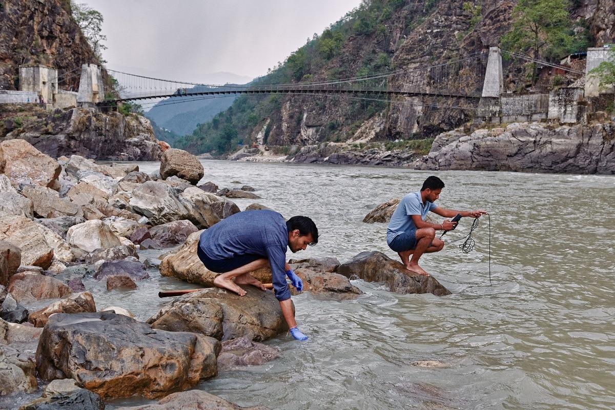 contaminacion del rio ganges