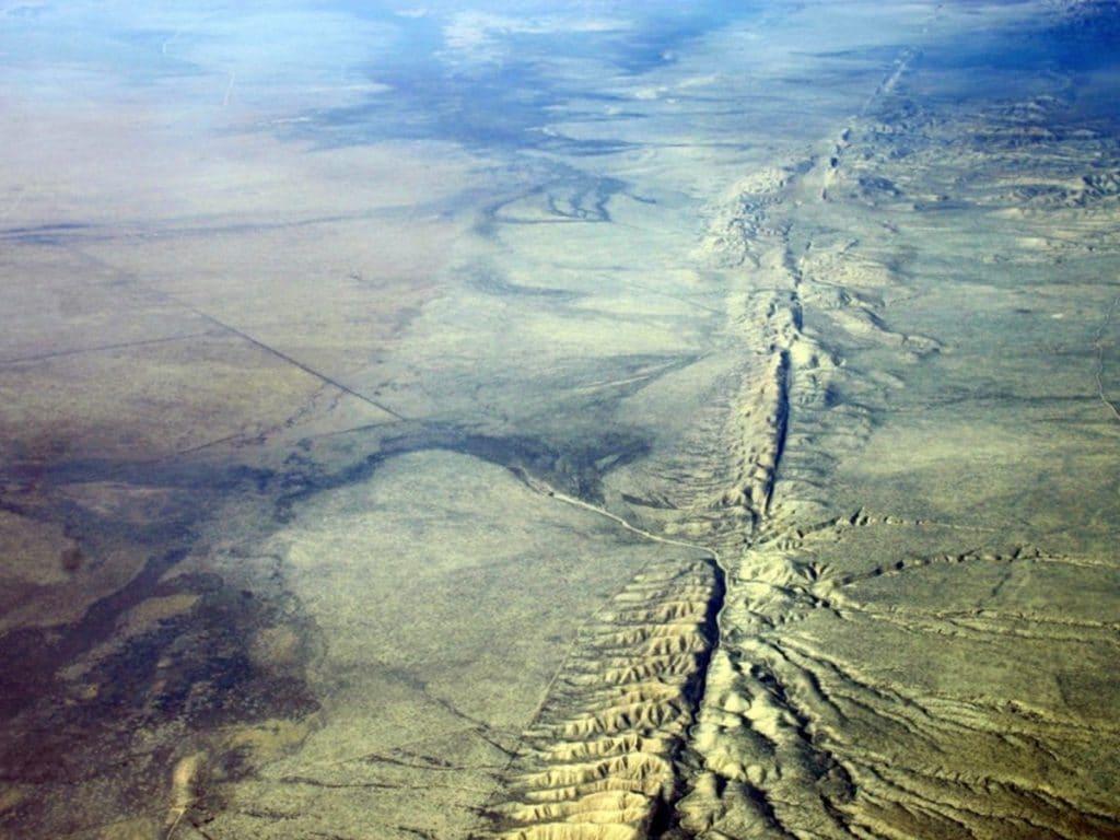 falla de san andres terremotos