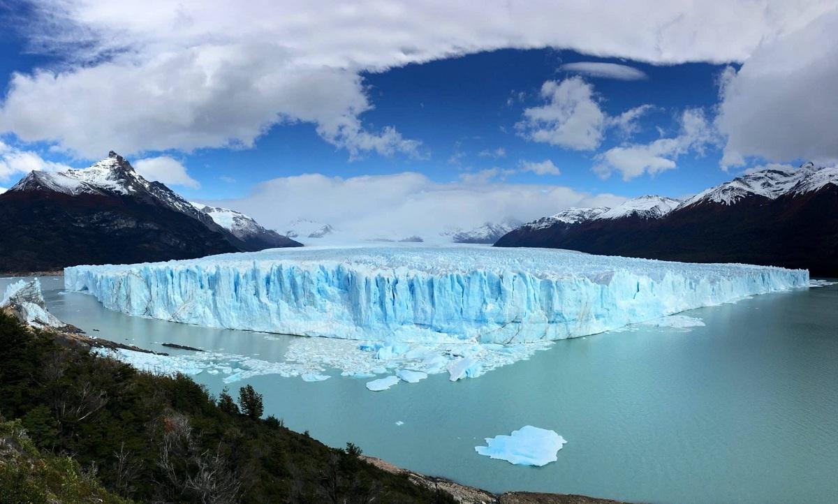 glaciar perito moreno en patagonia