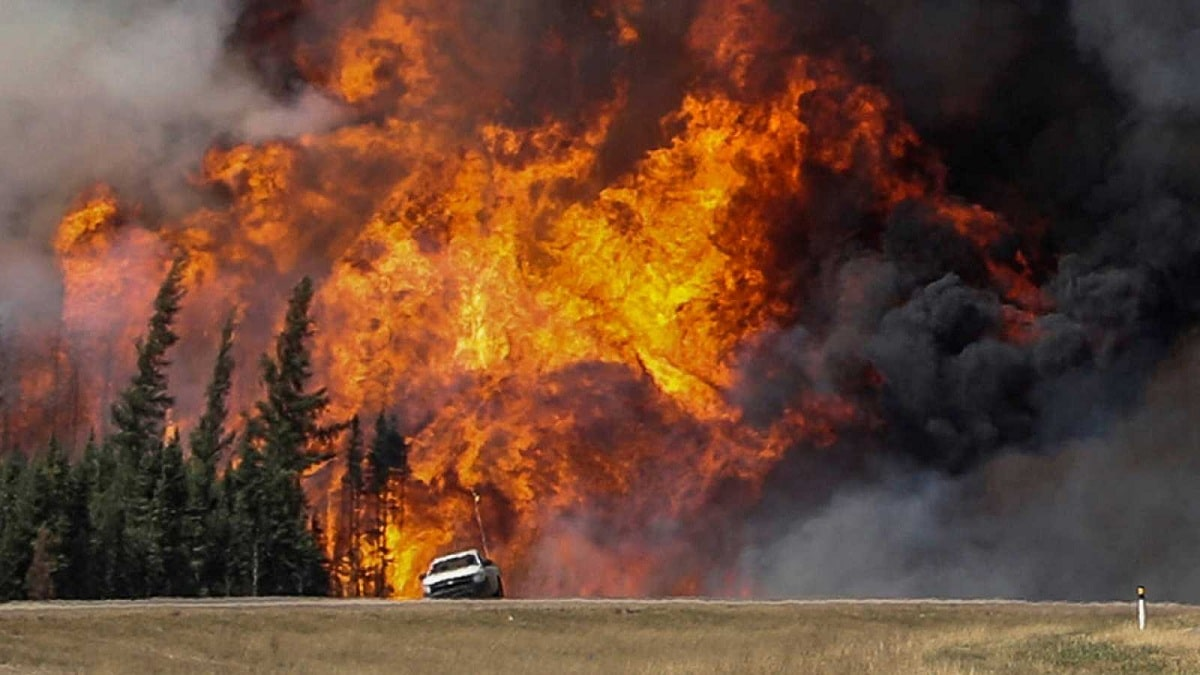 incendio forestal de canada