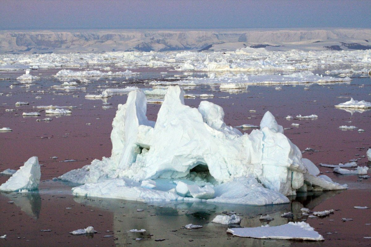 record de temperatura antartida