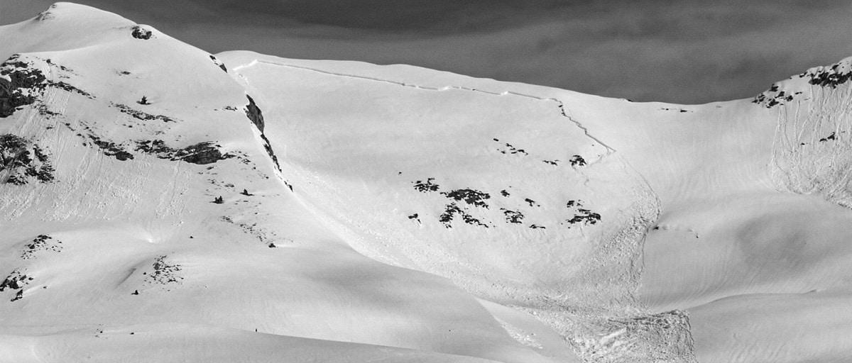 riesgo de avalancha de nieve