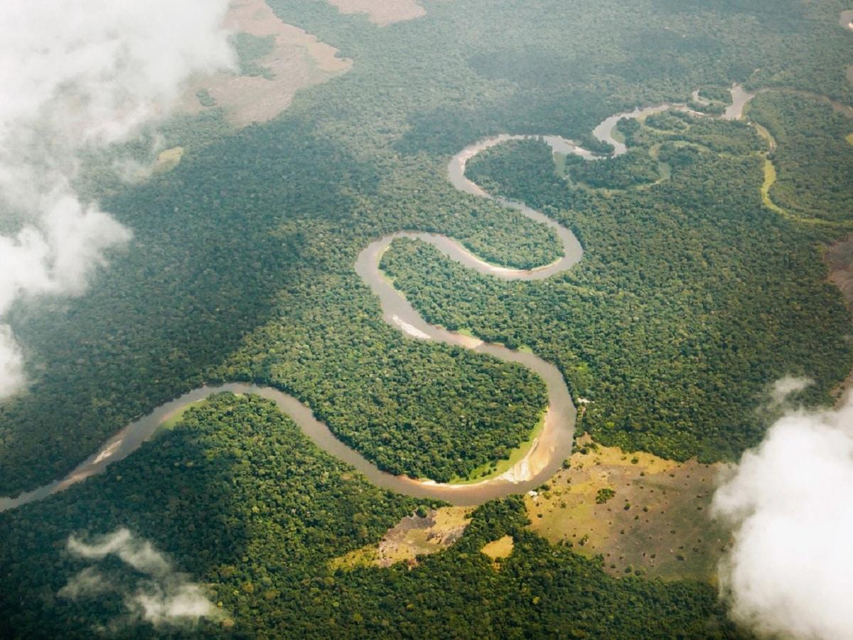 rios con meandros
