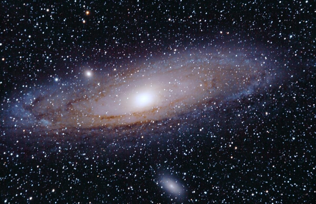 galaxia andromeda estrellas
