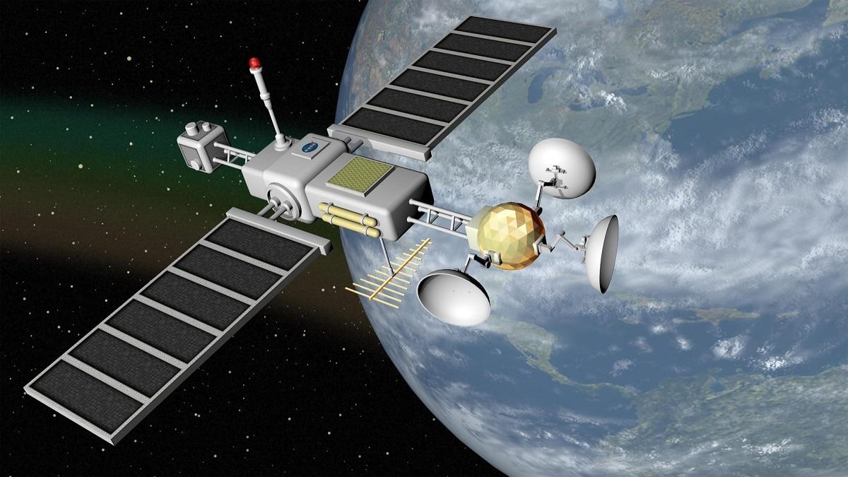 que es un satelite artificial